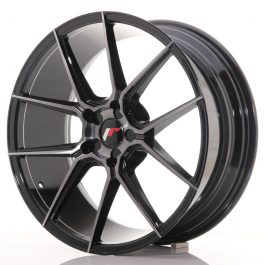 JR Wheels JR30 20×8,5 ET20-42 5H BLANK Black Brushed w/Tinted Face