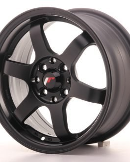 JR Wheels JR3 15×7 ET40 4×100/114 Matt Black