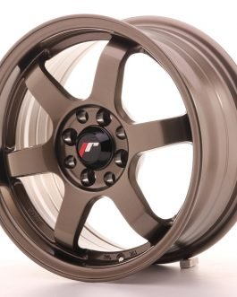 JR Wheels JR3 15×7 ET40 4×100/114 Bronze