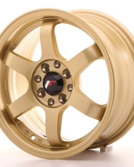 JR Wheels JR3 15×7 ET40 4×100/114 Gold