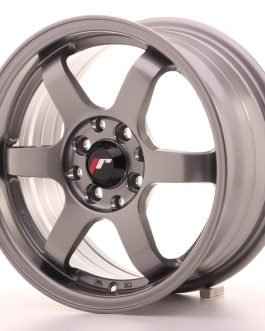 JR Wheels JR3 15×7 ET40 4×100/114 Gun Metal
