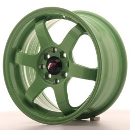 JR Wheels JR3 15×7 ET40 4×100/114 Green