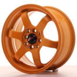 JR Wheels JR3 15×7 ET40 4×100/114 Orange