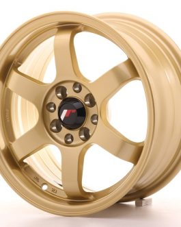 JR Wheels JR3 15×7 ET25 4×100/108 Gold