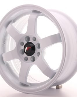 JR Wheels JR3 15×7 ET25 4×100/108 White
