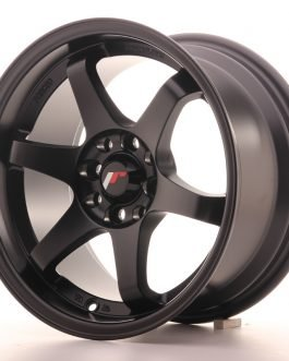 JR Wheels JR3 15×8 ET25 4×100/114 Matt Black