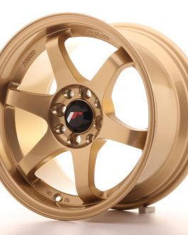 JR Wheels JR3 15×8 ET25 4×100/114 Gold