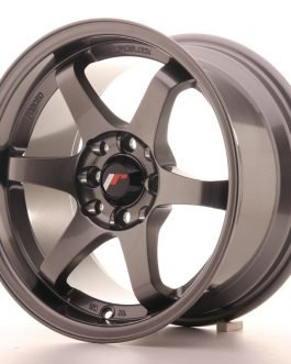 JR Wheels JR3 15×8 ET25 4×100/114 Gun Metal