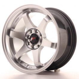 JR Wheels JR3 15×8 ET25 4×100/114 Hyper Silver
