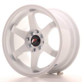 JR Wheels JR3 15×8 ET25 4×100/114 White