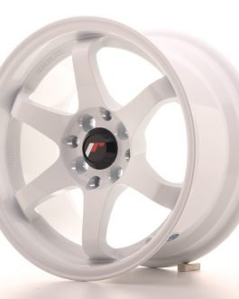 JR Wheels JR3 15×8 ET25 4×100/114 White