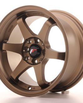 JR Wheels JR3 15×8 ET25 4×100/108 Anodized Bronze