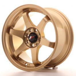 JR Wheels JR3 15×8 ET25 4×100/108 Gold