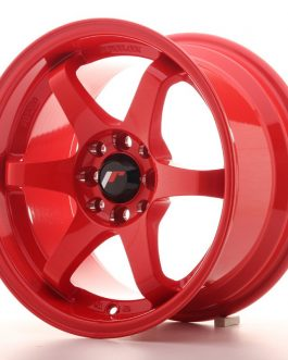 JR Wheels JR3 15×8 ET25 4×100/108 Red