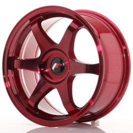 JR Wheels JR3 17×8 ET20-35 BLANK Platinum Red