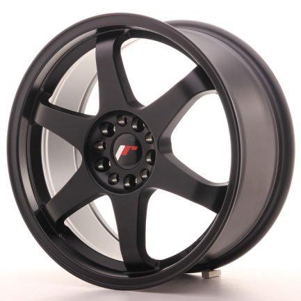 JAPAN RACING JR Wheels JR3 18x8 ET40 5x112/114 Matt Black 8.00x18