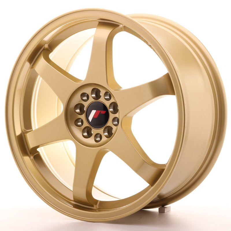 JAPAN RACING JR Wheels JR3 18x8 ET40 5x112/114 Gold 8.00x18