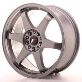 JR Wheels JR3 18×8 ET40 5×112/114 Gun Metal