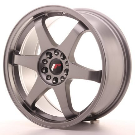 JAPAN RACING JR Wheels JR3 18x8 ET40 5x112/114 Gun Metal 8.00x18