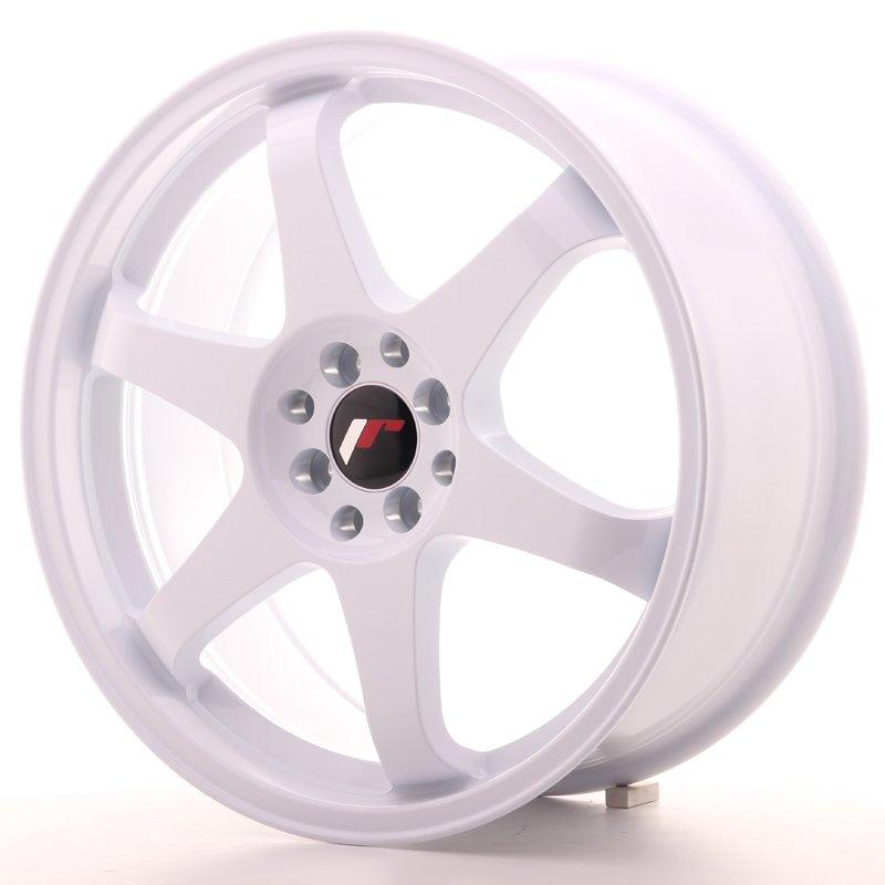 JAPAN RACING JR Wheels JR3 18x8 ET40 5x112/114 White 8.00x18