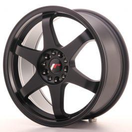 JR Wheels JR3 18×8 ET35 5×100/120 Matt Black