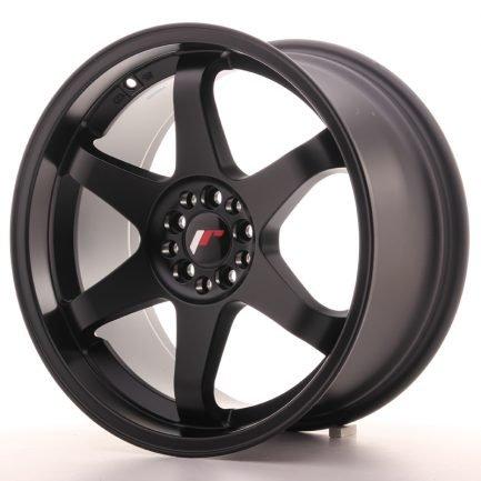 JAPAN RACING JR Wheels JR3 18x9 ET40 5x112/114 Matt Black 9.00x18