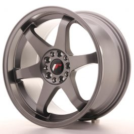 JR Wheels JR3 18×9 ET40 5×112/114 Gun Metal