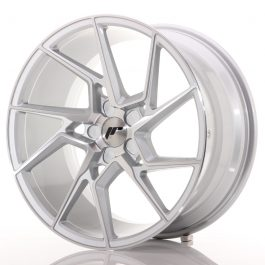 JR Wheels JR33 19×9,5 ET20-45 5H BLANK Silver Machined Face
