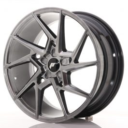 JR Wheels JR33 20×9 ET20-48 5H BLANK Hyper Black