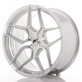 JR Wheels JR34 19×9,5 ET20-40 5H BLANK Silver Machined Face