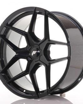 JR Wheels JR34 20×10 ET20-40 5H BLANK Gloss Black