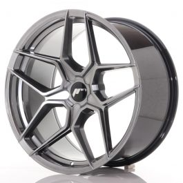 JR Wheels JR34 20×10 ET20-40 5H BLANK Hyper Black