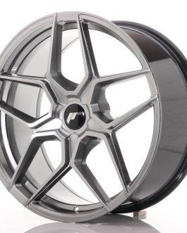 JR Wheels JR34 20×9 ET20-40 5H BLANK Hyper Black