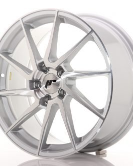 JR Wheels JR36 18×8 ET45 5×112 Silver Brushed Face