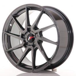 JR Wheels JR36 18×8 ET20-52 5H BLANK Hyper Black