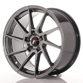 JR Wheels JR36 18×9 ET45 5×112 Hyper Black