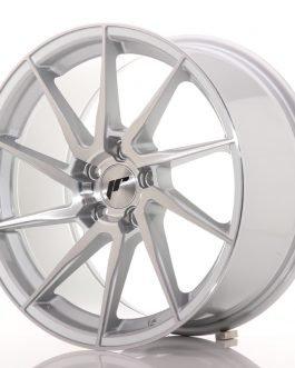 JR Wheels JR36 18×9 ET45 5×112 Silver Brushed Face