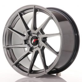 JR Wheels JR36 18×9 ET20-48 5H BLANK Hyper Black