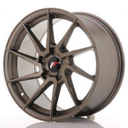 JR Wheels JR36 18×9 ET20-48 5H BLANK Matt Bronze