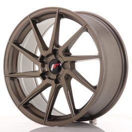 JR Wheels JR36 19×8,5 ET20-50 5H BLANK Matt Bronze