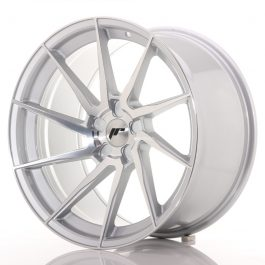 JR Wheels JR36 20×10,5 ET10-35 5H BLANK Silver Brushed Face