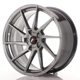 JR Wheels JR36 20×9 ET15-42 5H BLANK Hyper Black