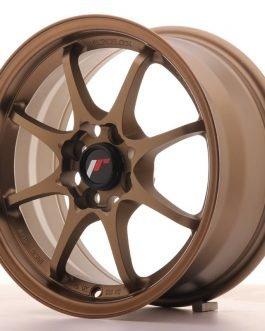 JR Wheels JR5 15×7 ET35 4×100 Dark Anodized Bronze