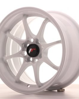 JR Wheels JR5 15×8 ET28 4×100 White