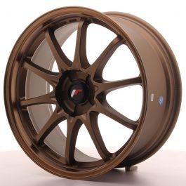 JR Wheels JR5 18×8 ET35 5H BLANK Dark Anodized Bronze