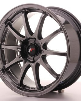 JR Wheels JR5 18×8 ET35 5H BLANK Hyper Black