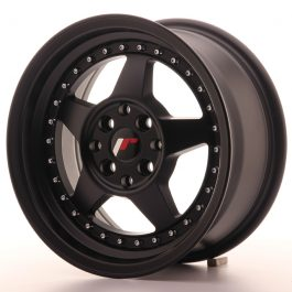 JR Wheels JR6 15×7 ET25 4×100/108 Matt Black