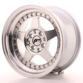 JR Wheels JR6 15×8 ET5 4×100/114 Silver Machined Face