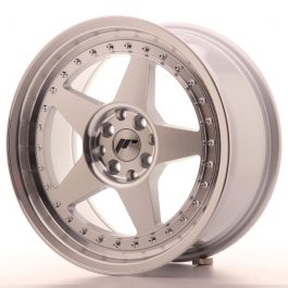 JR Wheels JR6 17×8 ET35 4×100/114 Silver Machined Face
