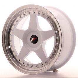 JR Wheels JR6 17×8 ET20-35 BLANK White